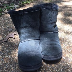 Black Bailey Bows UGG Boots